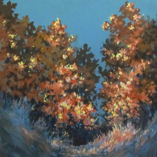 "Autumn Light 4  36"" x 36"""